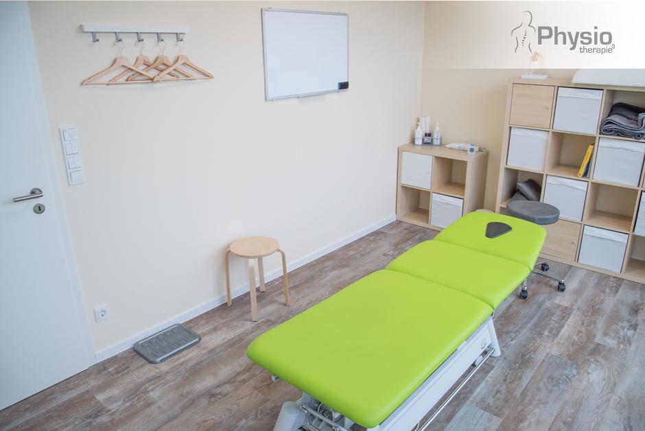 Behandlungsraum – Praxis für Physiotherapie in Hünfeld